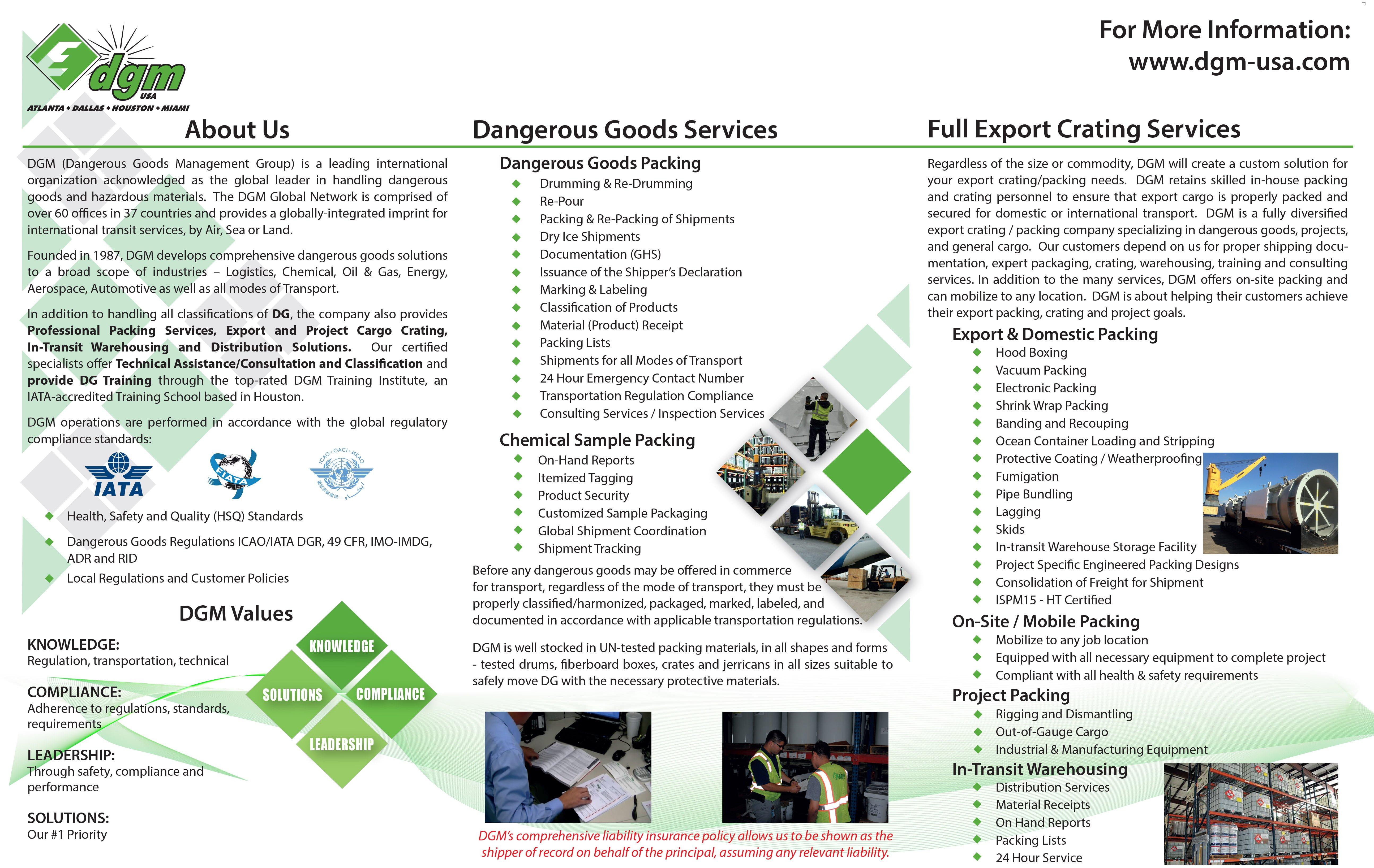 sample business brochures